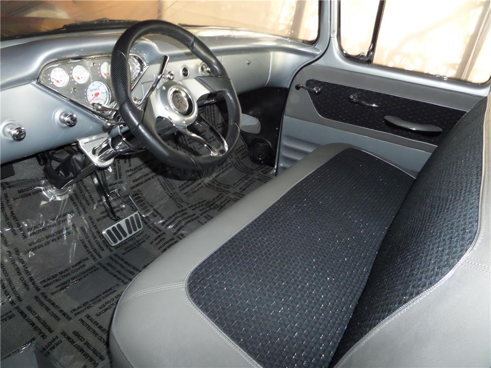 1955 CHEVROLET 3100 CUSTOM PICKUP - Interior - 177152