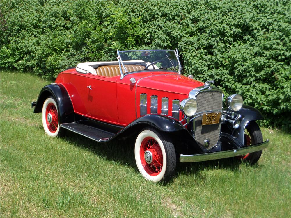 1932 CHEVROLET CONFEDERATE SPORTS ROADSTER - Front 3/4 - 177153