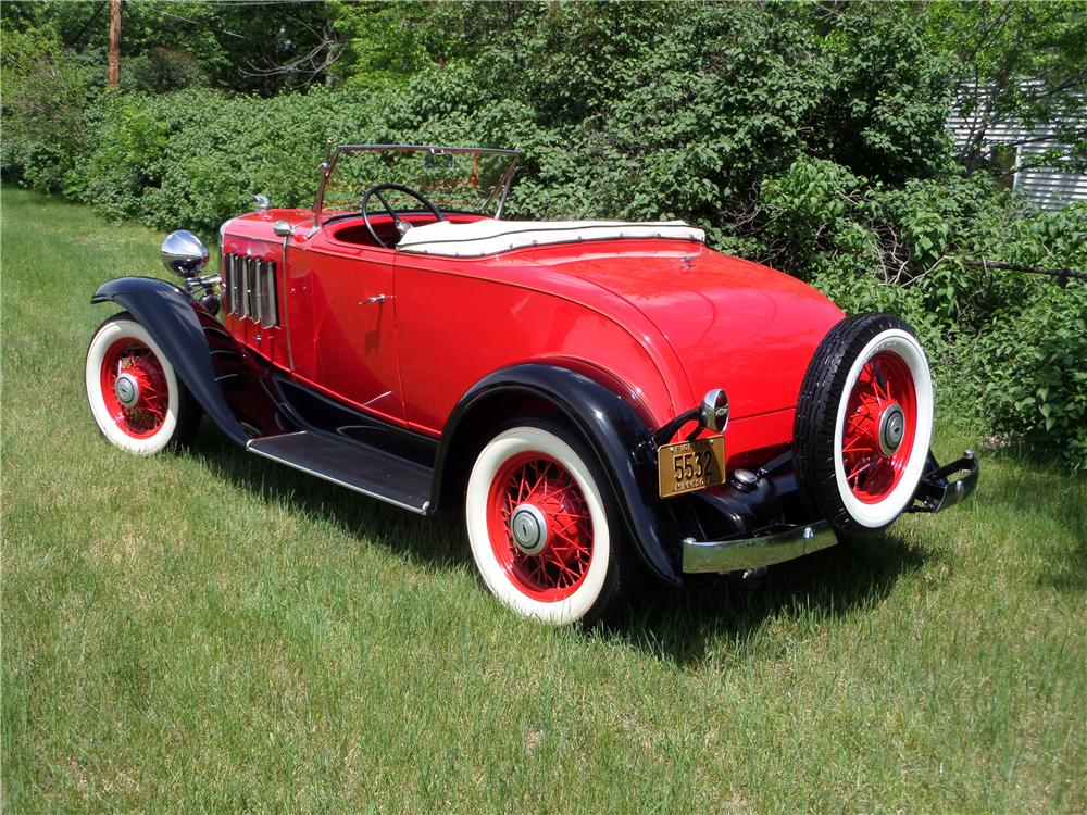 1932 CHEVROLET CONFEDERATE SPORTS ROADSTER - Rear 3/4 - 177153