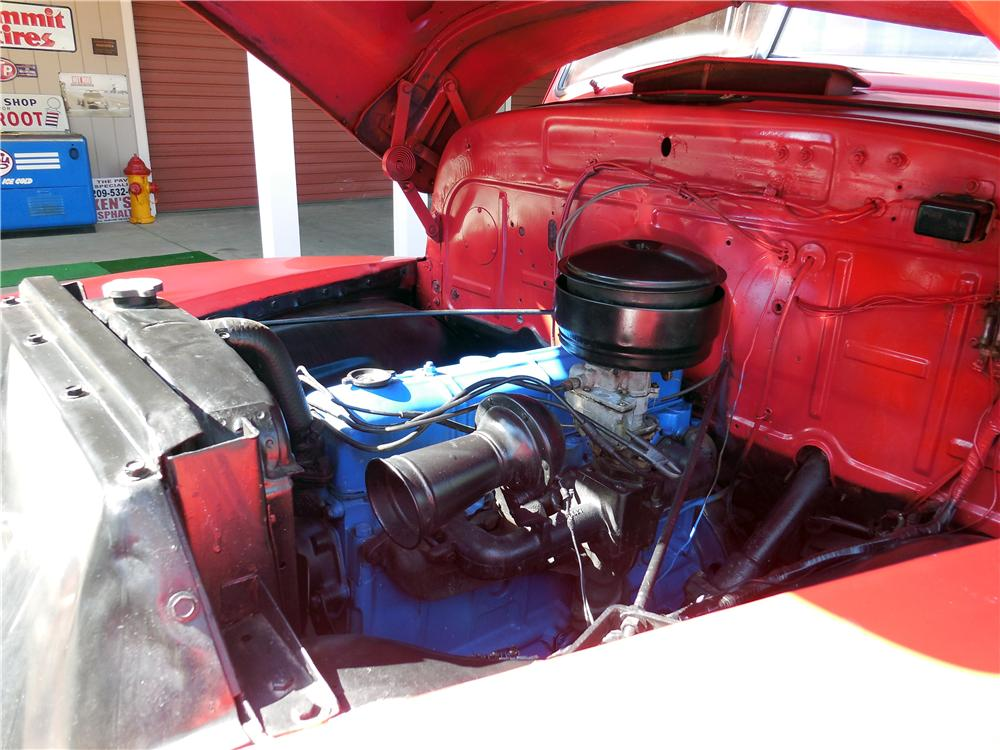 1950 CHEVROLET 5 WINDOW PICKUP - Engine - 177170