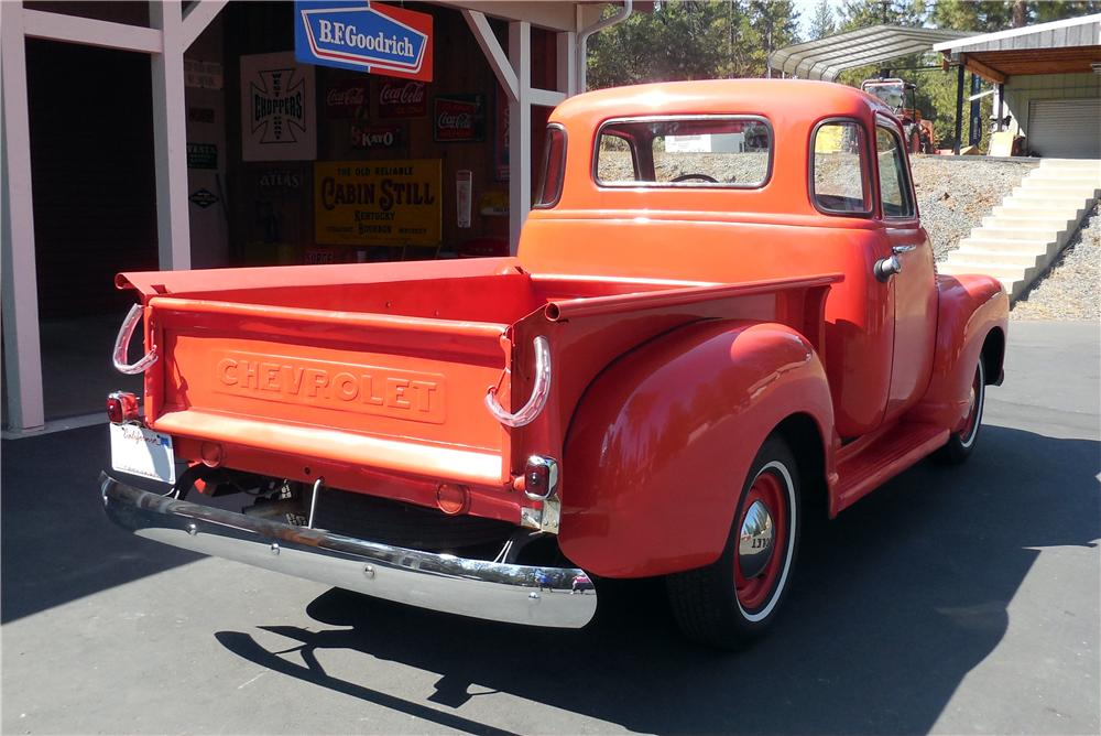 1950 CHEVROLET 5 WINDOW PICKUP - Rear 3/4 - 177170