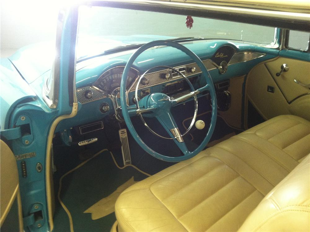 1955 CHEVROLET BEL AIR CUSTOM 2 DOOR HARDTOP - Interior - 177178