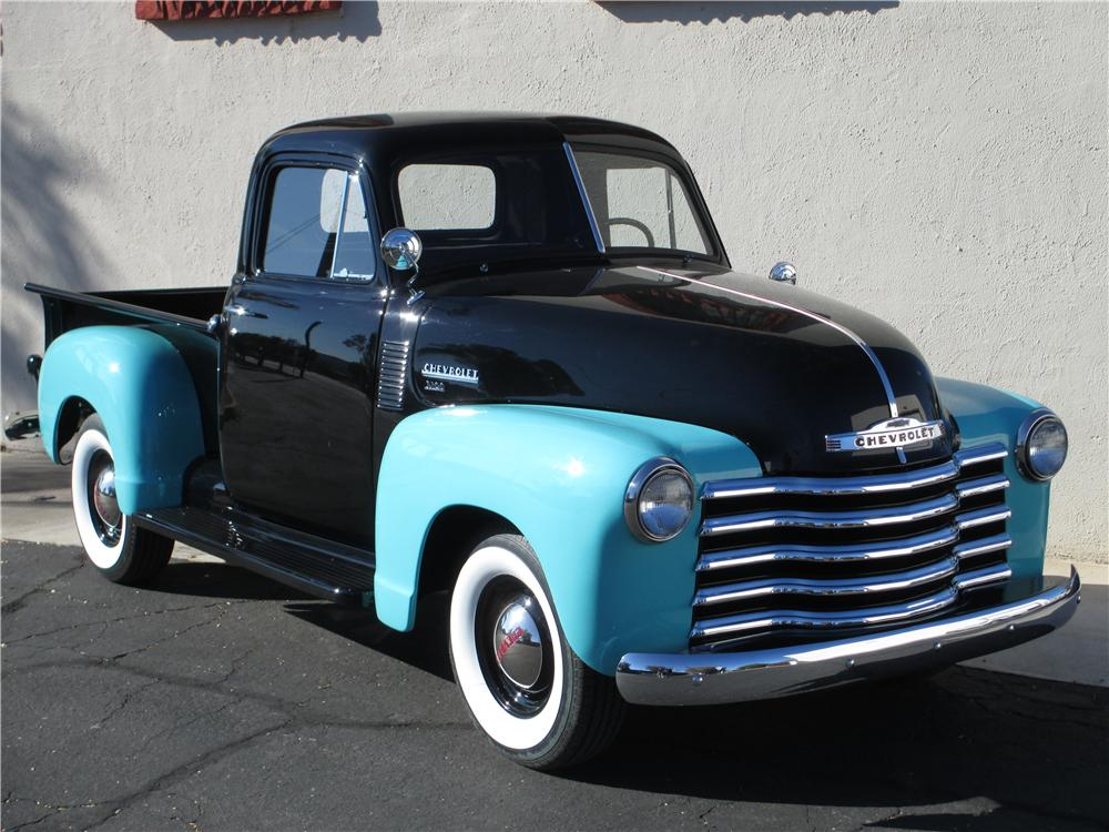 1952 CHEVROLET 3100 PICKUP - Front 3/4 - 177199
