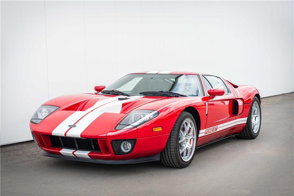 2006 FORD GT 2 DOOR COUPE - Front 3/4 - 177201