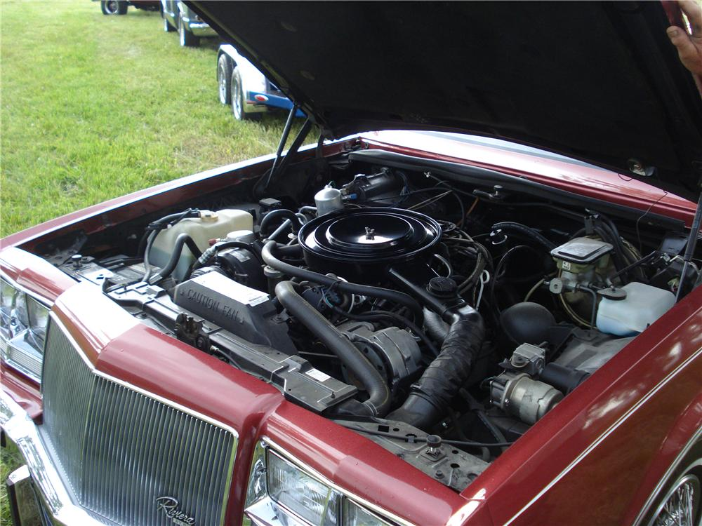 1984 BUICK RIVIERA 2 DOOR COUPE - Engine - 177203