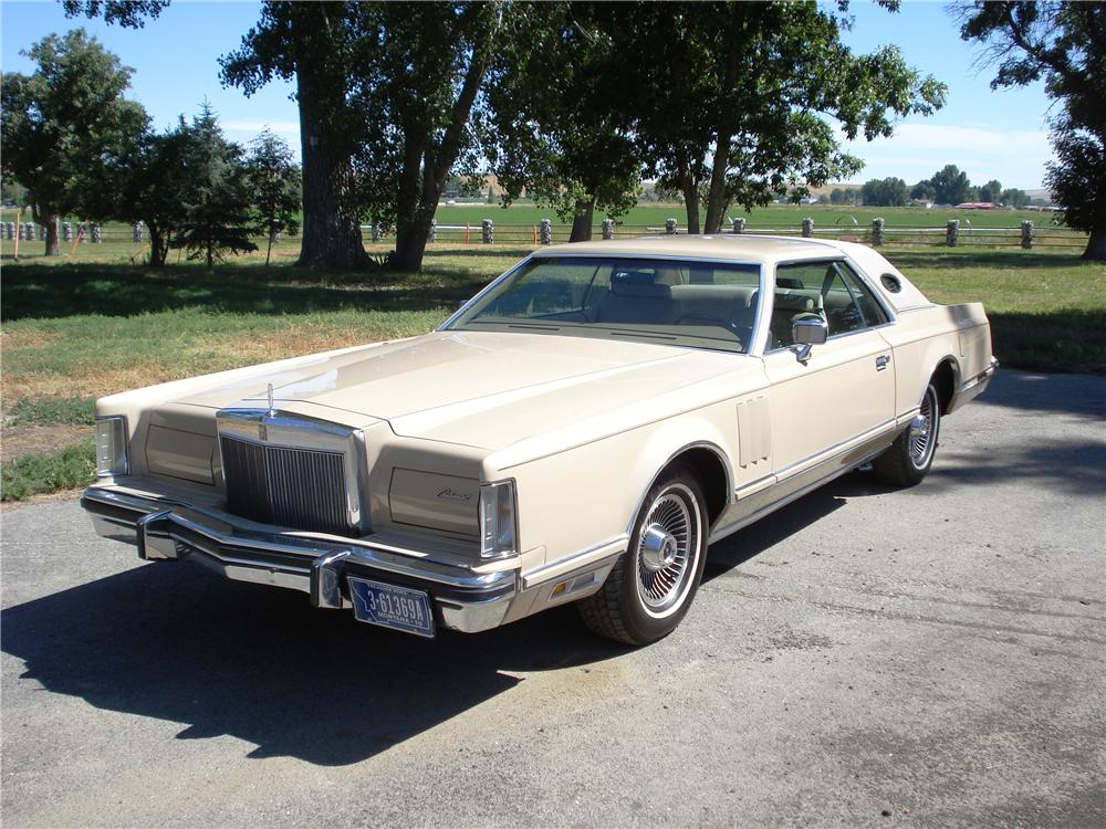 1978 LINCOLN CONTINENTAL MARK V 2 DOOR CARTIER DESIGNER EDITION - Front 3/4 - 177204