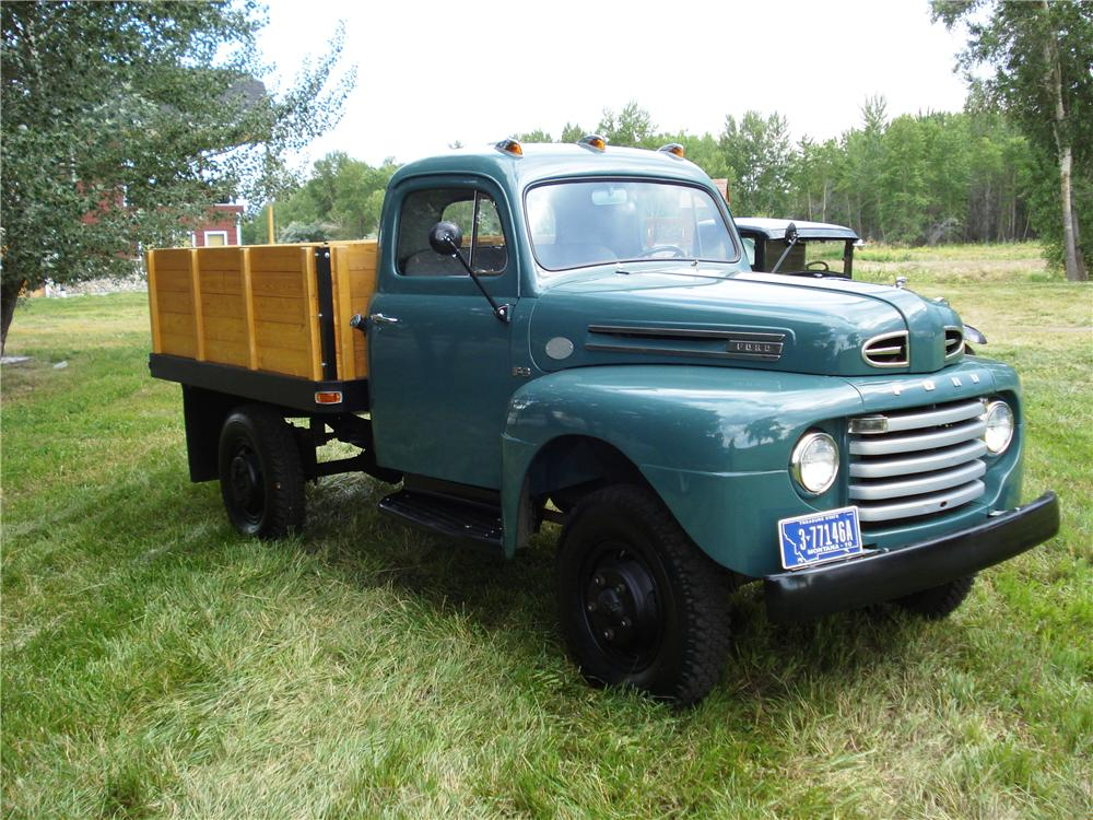 1952 FORD F-3 4X4 PICKUP - Front 3/4 - 177207