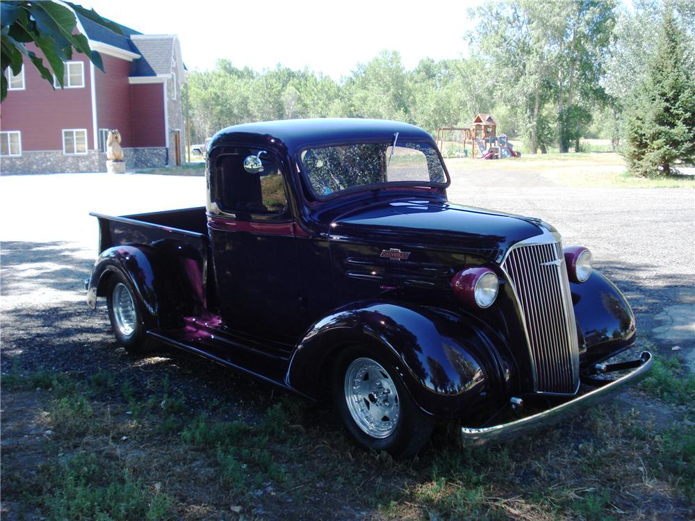 Electric Pickup Truck >> 1937 CHEVROLET CUSTOM PICKUP - 177210