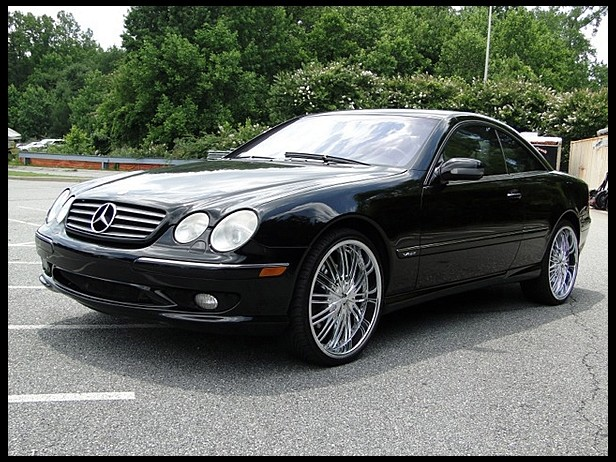 2002 mercedes benz cl600 2 door coupe 177213 for Mercedes benz cl600 for sale
