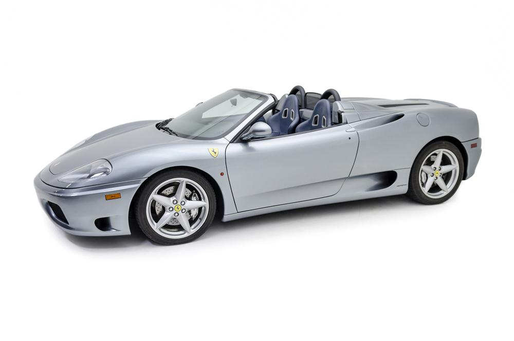 2002 FERRARI 360 SPIDER - Side Profile - 177215