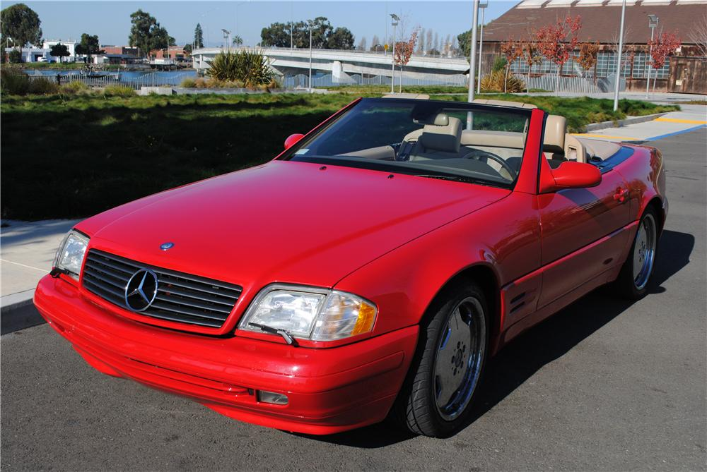 1999 MERCEDES-BENZ SL500 CONVERTIBLE - Front 3/4 - 177227
