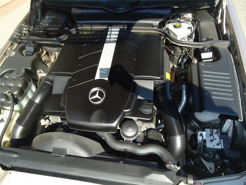 2000 MERCEDES-BENZ SL500 CONVERTIBLE - Engine - 177230