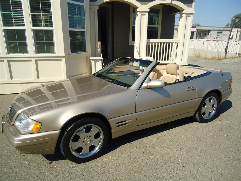 2000 MERCEDES-BENZ SL500 CONVERTIBLE - Front 3/4 - 177230
