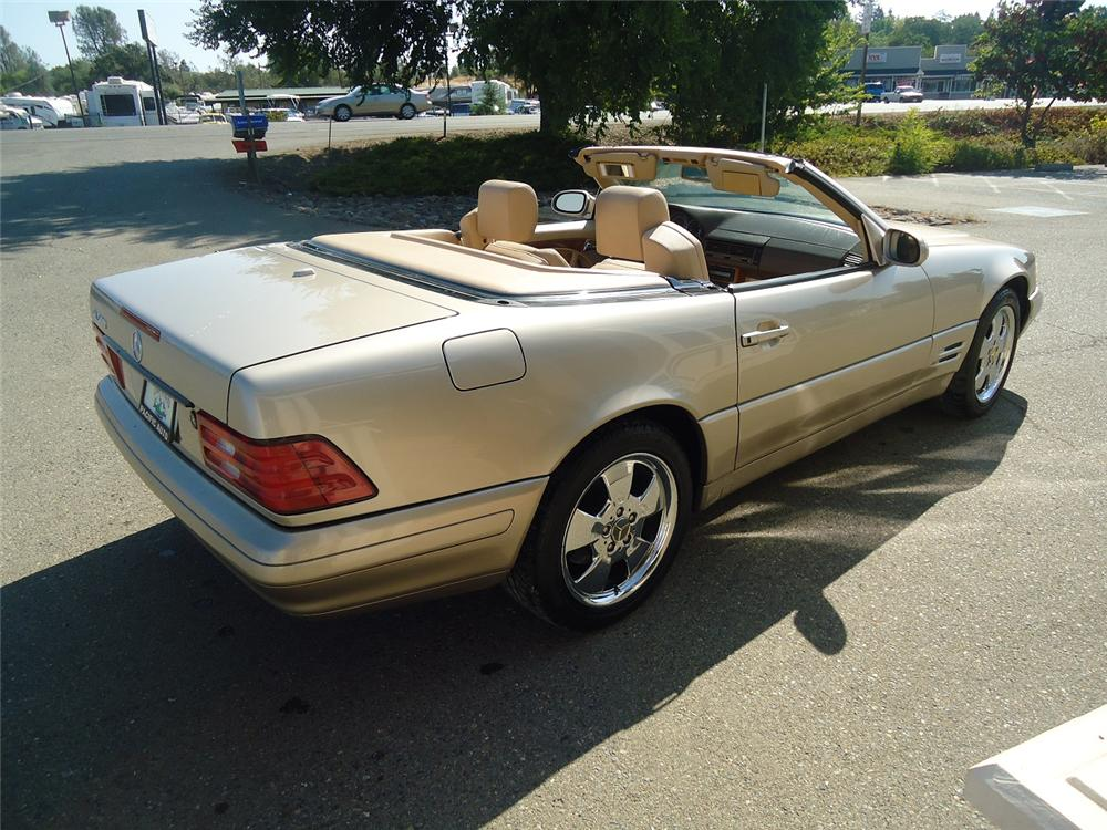 2000 MERCEDES-BENZ SL500 CONVERTIBLE - Rear 3/4 - 177230
