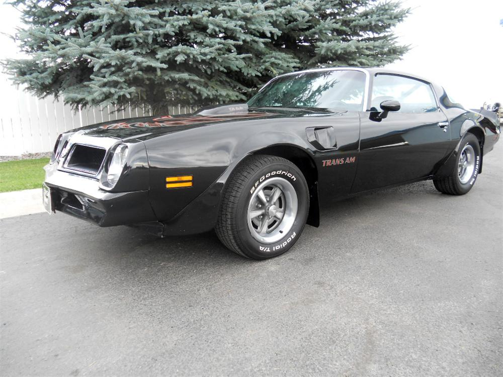 1976 PONTIAC FIREBIRD TRANS AM 2 DOOR COUPE - Front 3/4 - 177236