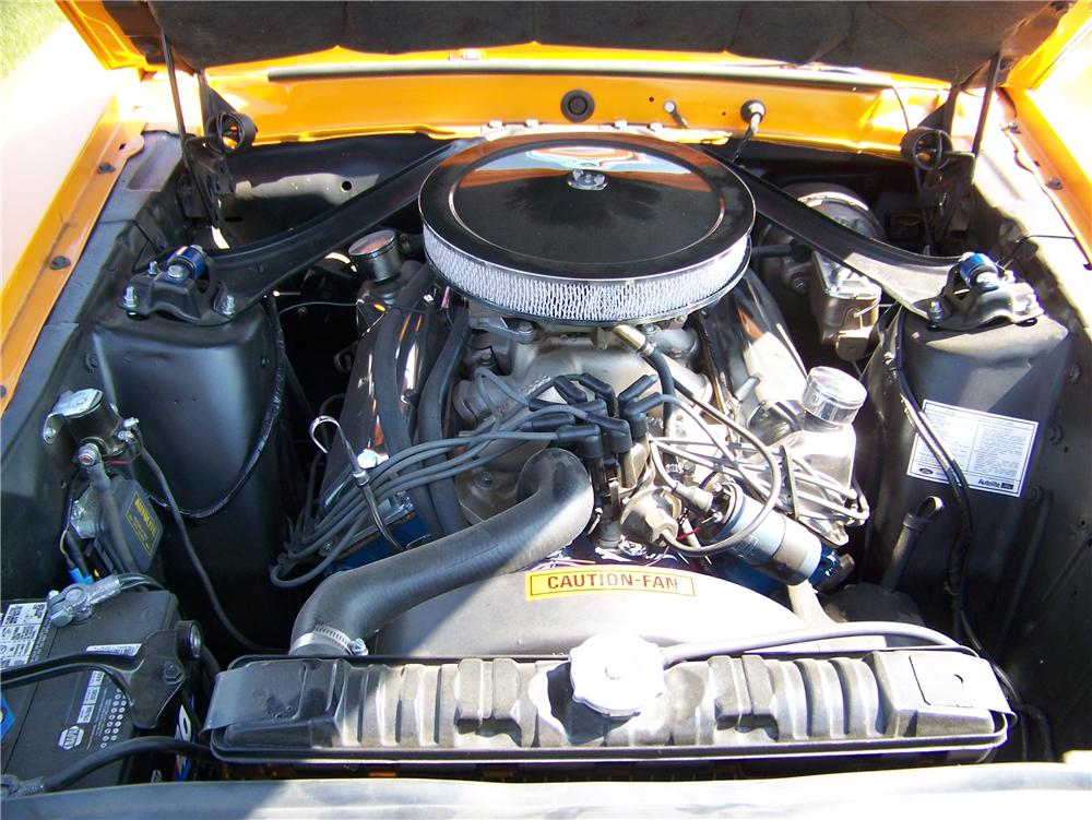 1970 FORD MUSTANG MACH 1 FASTBACK - Engine - 177242