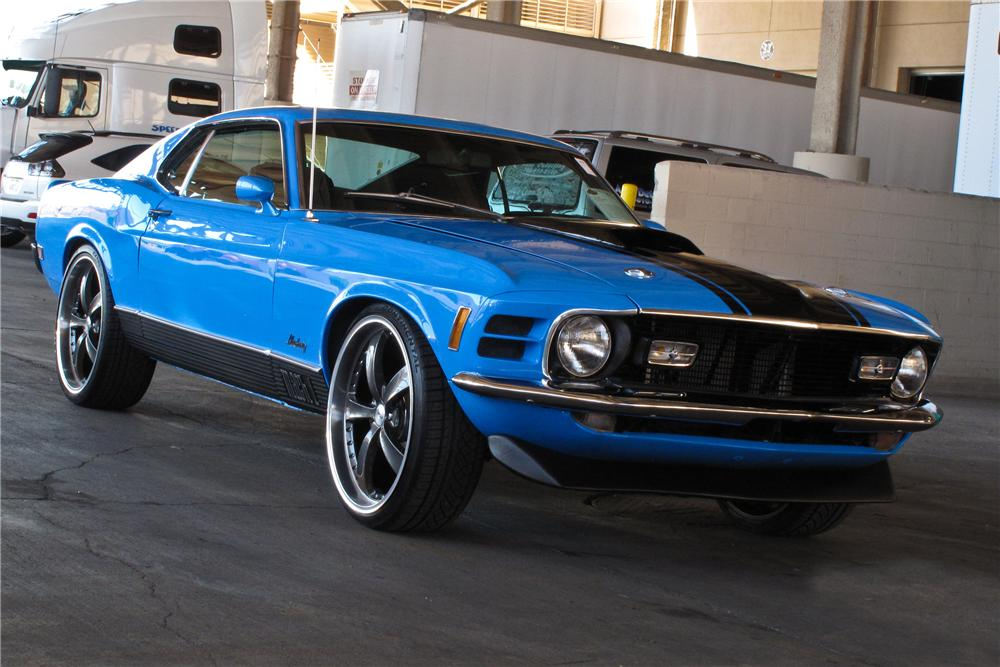 1970 FORD MUSTANG MACH 1 FASTBACK - Front 3/4 - 177248