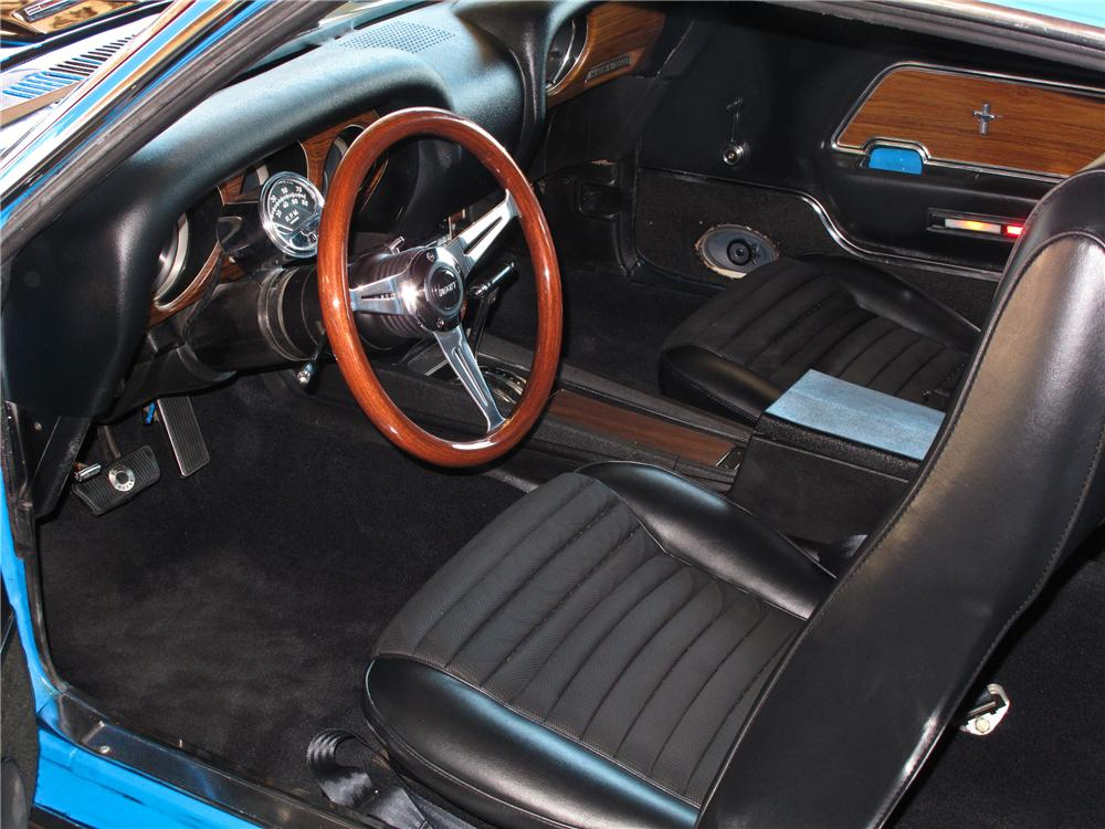 1970 FORD MUSTANG MACH 1 FASTBACK - Interior - 177248