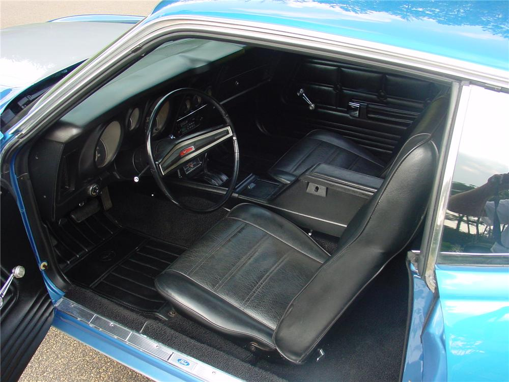 1972 FORD MUSTANG MACH 1 CUSTOM FASTBACK - Interior - 177251