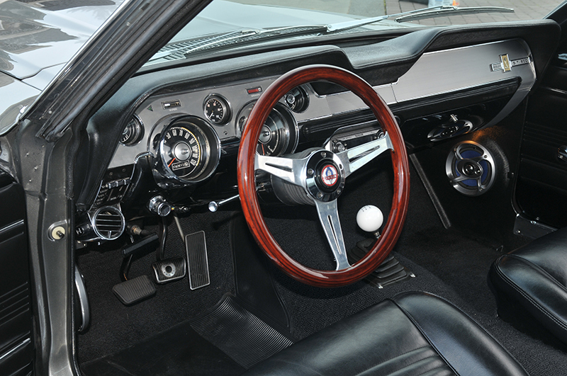 1967 FORD MUSTANG CUSTOM FASTBACK - Interior - 177255