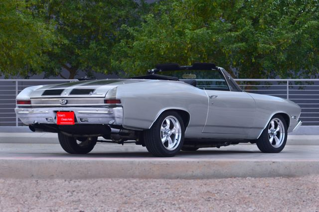 1968 CHEVROLET CHEVELLE MALIBU CUSTOM CONVERTIBLE - Rear 3/4 - 177267