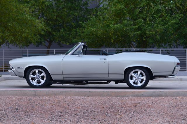 1968 CHEVROLET CHEVELLE MALIBU CUSTOM CONVERTIBLE - Side Profile - 177267