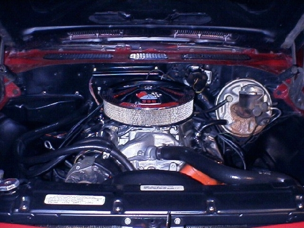 1969 CHEVROLET CHEVELLE SS - Engine - 17727
