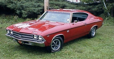 1969 CHEVROLET CHEVELLE SS - Front 3/4 - 17727