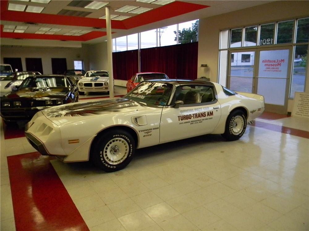 1980 PONTIAC FIREBIRD TRANS AM 2 DOOR COUPE - Front 3/4 - 177274