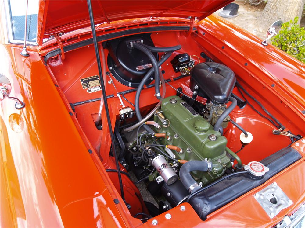 1959 NASH METROPOLITAN 2 DOOR COUPE - Engine - 177276