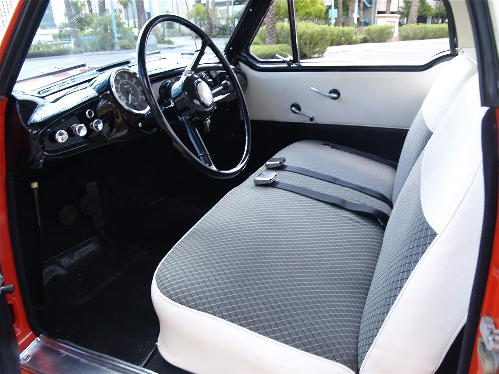 1959 NASH METROPOLITAN 2 DOOR COUPE - Interior - 177276