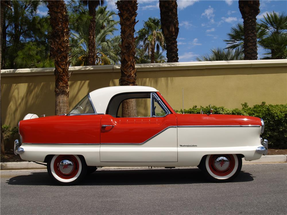 1959 NASH METROPOLITAN 2 DOOR COUPE - Side Profile - 177276