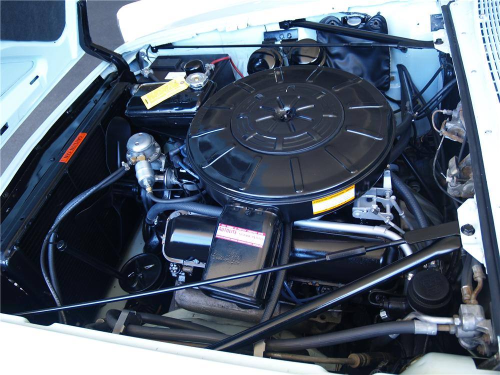 1961 LINCOLN CONTINENTAL 4 DOOR CONVERTIBLE - Engine - 177277