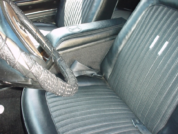 1968 SHELBY GT500 CONVERTIBLE - Interior - 17728