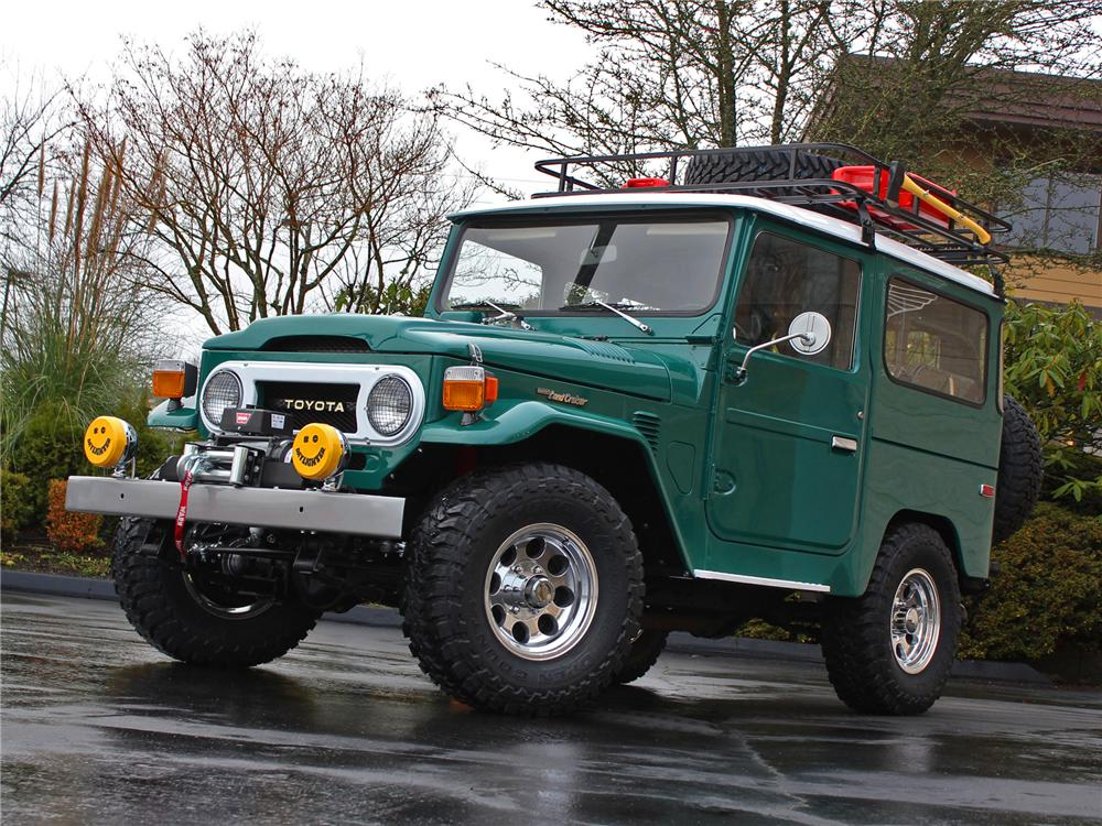 1975 Toyota Land Cruiser Fj 40 Custom Suv 177295
