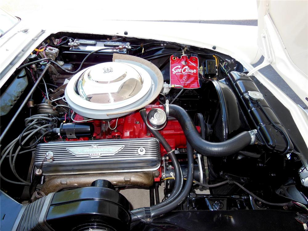 1956 FORD THUNDERBIRD CONVERTIBLE - Engine - 177297