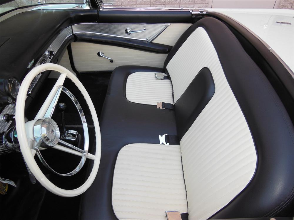1956 FORD THUNDERBIRD CONVERTIBLE - Interior - 177297