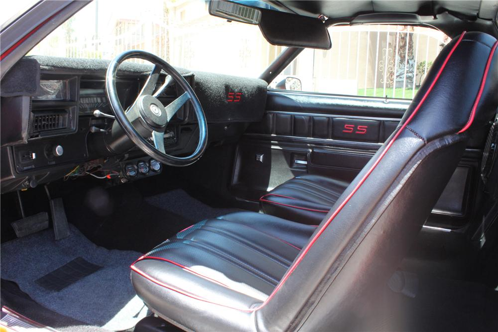 1974 CHEVROLET EL CAMINO PICKUP - Interior - 177303