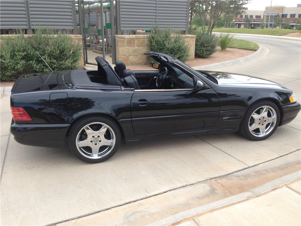 1999 MERCEDES-BENZ SL500 CONVERTIBLE - Side Profile - 177314