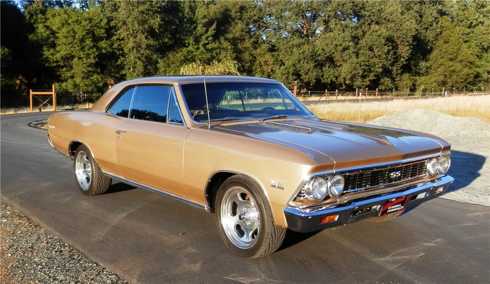 1966 CHEVROLET CHEVELLE SS 2 DOOR COUPE - Front 3/4 - 177317