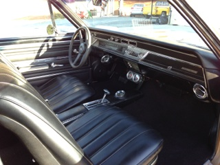 1966 CHEVROLET CHEVELLE SS 2 DOOR COUPE - Interior - 177317