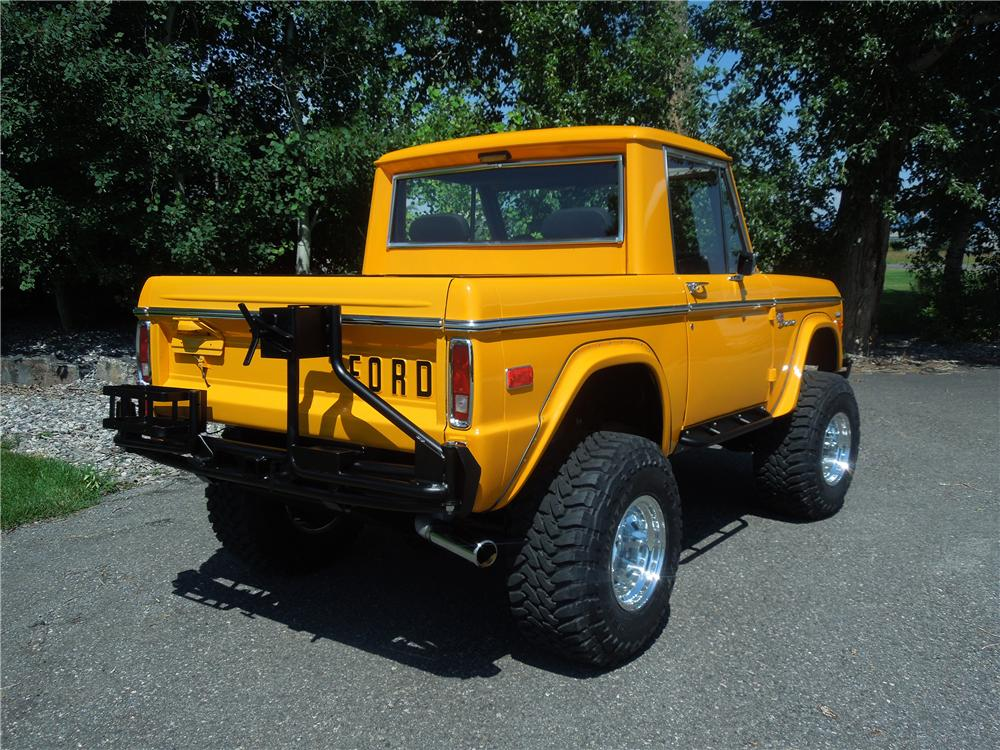 1975 FORD BRONCO 4X4 SUV - Rear 3/4 - 177318