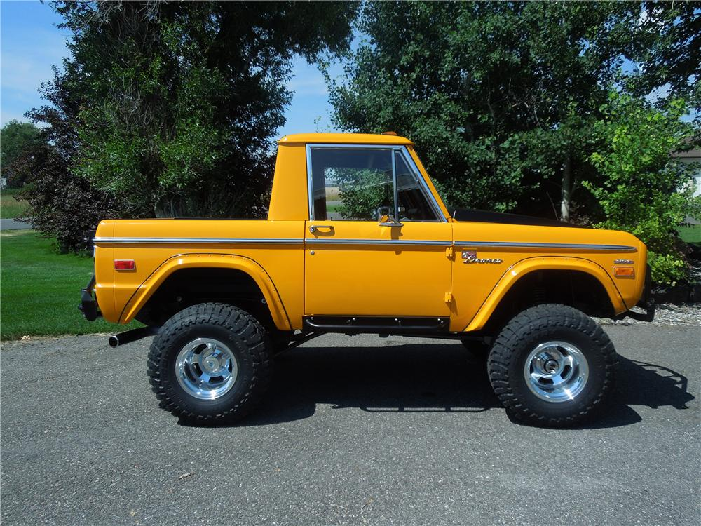 1975 Ford Bronco 4x4 Suv 177318