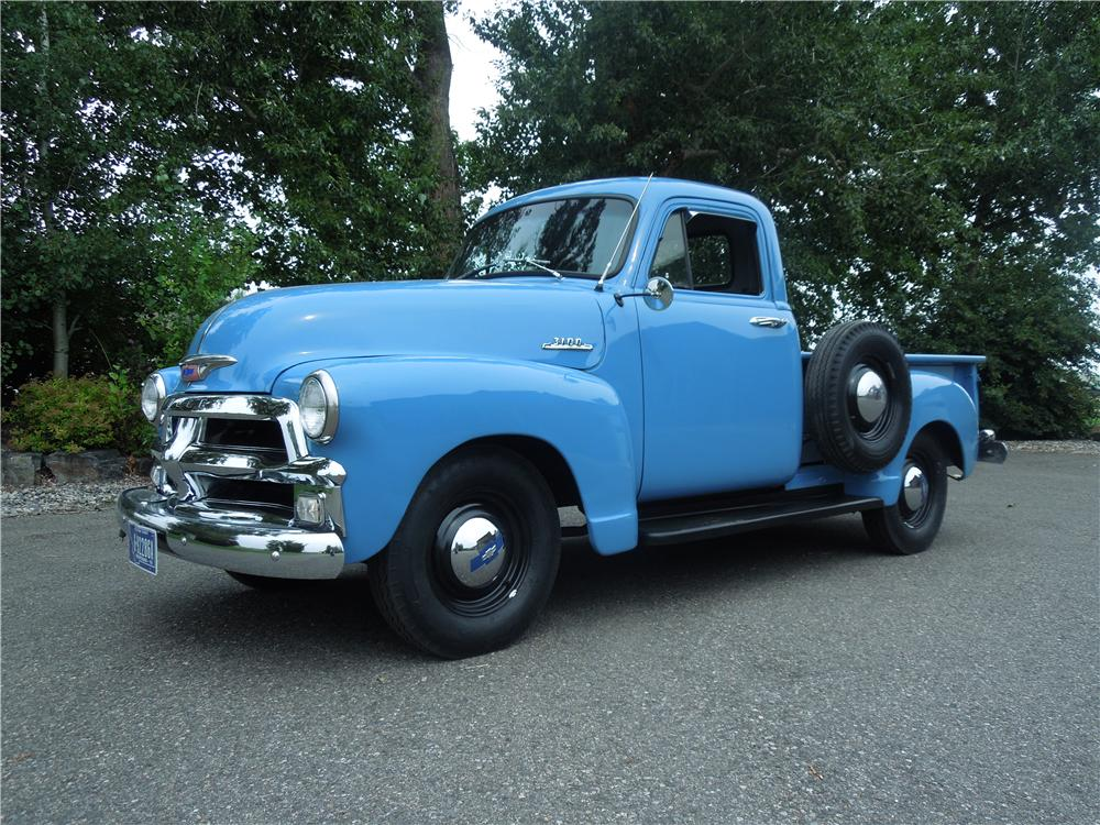 1954 CHEVROLET 3100 PICKUP - Front 3/4 - 177319