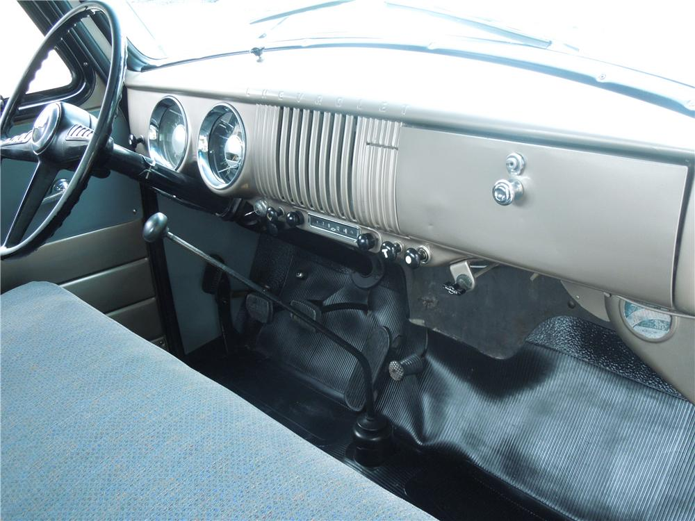 1954 CHEVROLET 3100 PICKUP - Interior - 177319