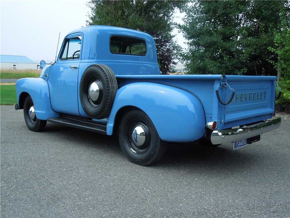 1954 CHEVROLET 3100 PICKUP - Rear 3/4 - 177319