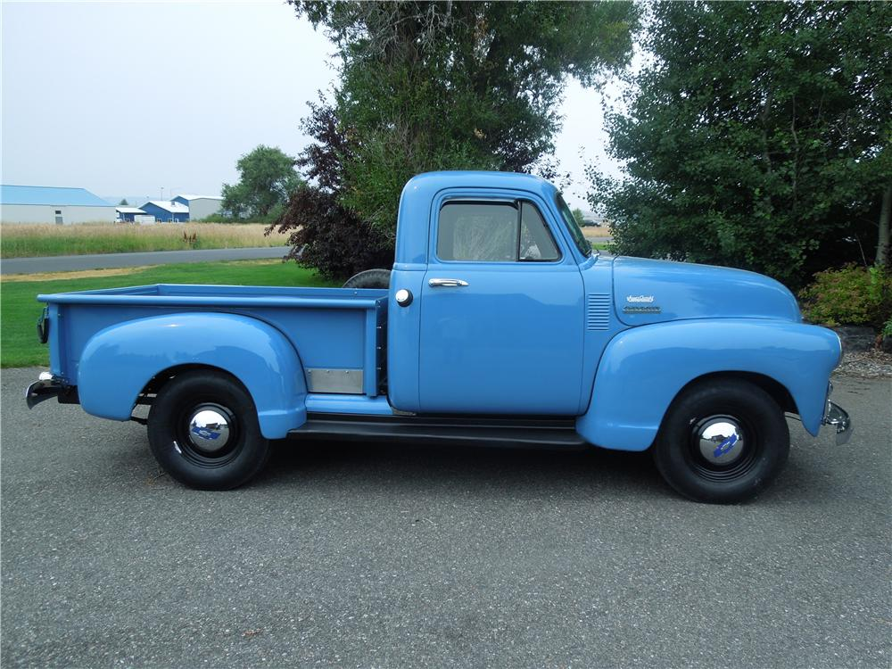 1954 CHEVROLET 3100 PICKUP - Side Profile - 177319