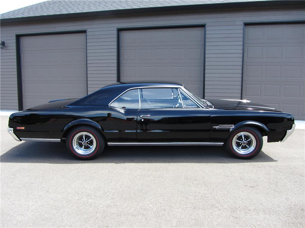 1966 OLDSMOBILE 442 2 DOOR HARDTOP - Side Profile - 177326
