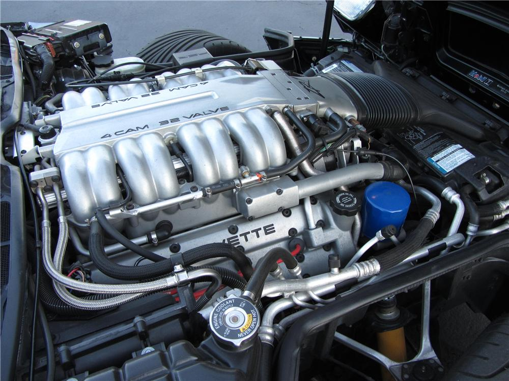 1994 CHEVROLET CORVETTE ZR1 2 DOOR COUPE - Engine - 177327