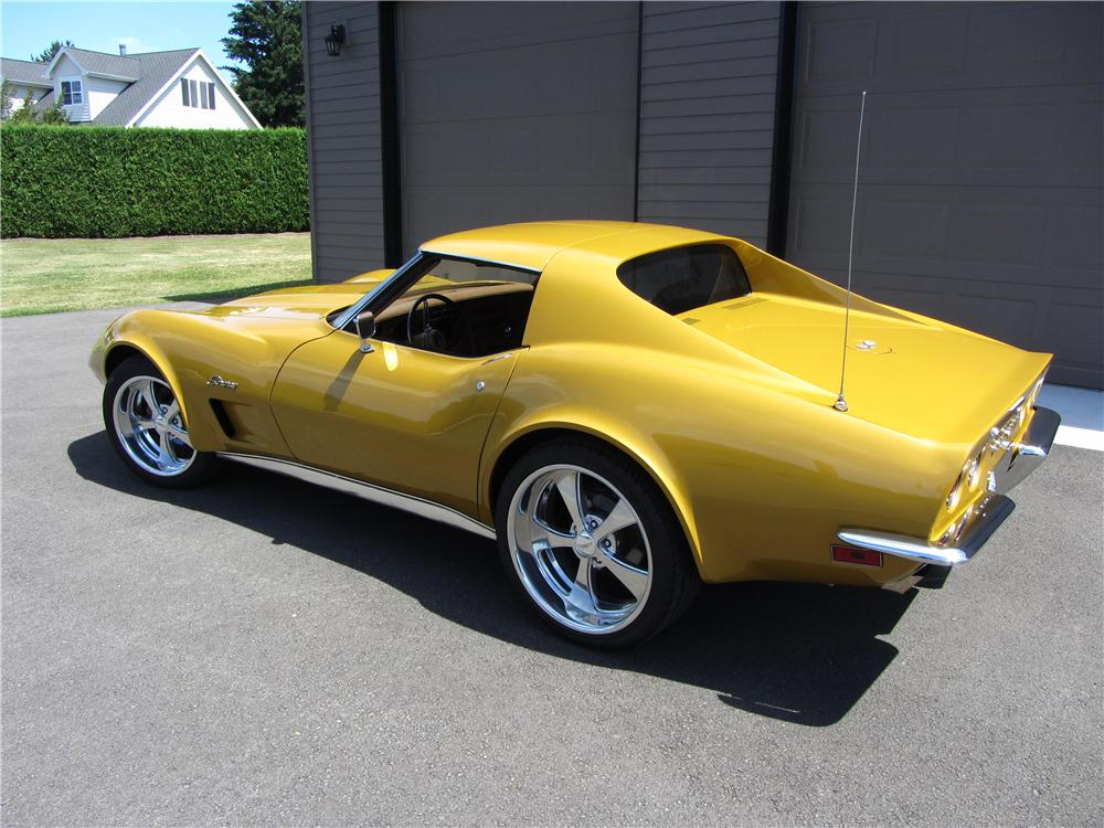 1973 Chevrolet Corvette Custom 2 Door Coupe 177328